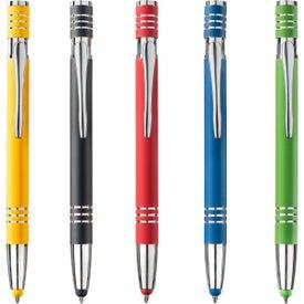 Fiona Satin Touch Stylus Pen