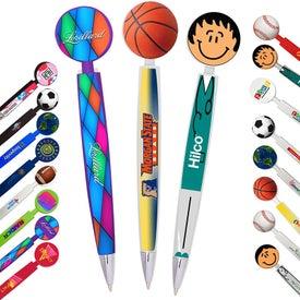 Flat Printing Pen (Full Color Logo)