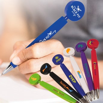 CLICK HERE to Order Pad Print Flat Printing Pens Printed with Your
