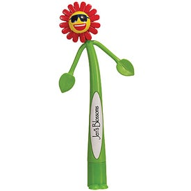 Flower Bend-A-Pen for your School