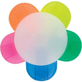 Flower Highlighters with Your Logo
