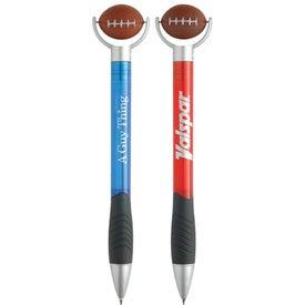 Advertising Football Stressball Pen