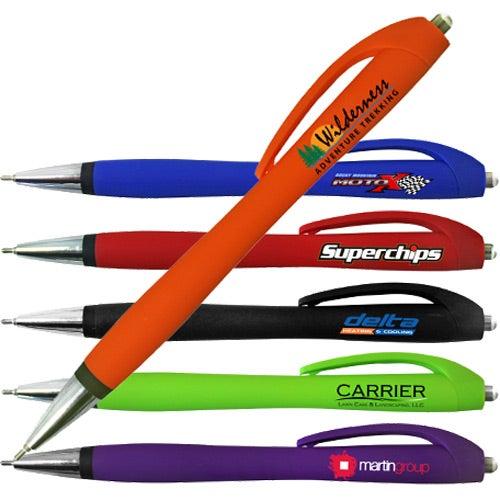 Halcyon Rubberized Click Pen