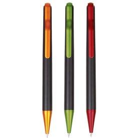 Branded Funky Clip Plastic Pen