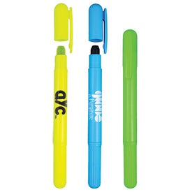 Gel E Highlighter Imprinted with Your Logo