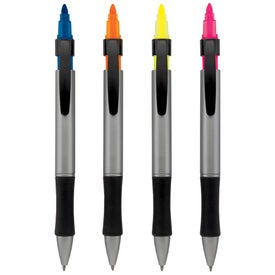Advertising Gemini Pen Highlighter Combo