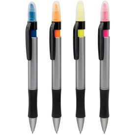 Gemini Pen Highlighter Combo with Your Slogan