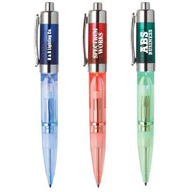 Customized Glimmer Light Up Pen