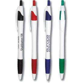 Gripped Slimster Pen (White)