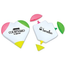 3-Color Heart Highlighter