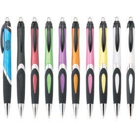 Helix Ballpoint Pen (Iridescent Barrel)