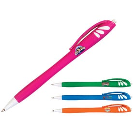 Hexachrome Spirit Click Pen Branded with Your Logo