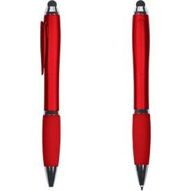 Hidden Clip Duo Pen Stylus for your School