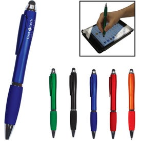 Hidden Clip Duo Pen Stylus for Your Company