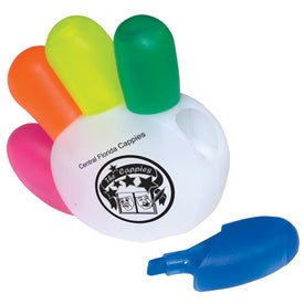 Imprinted High-Five Highlighters