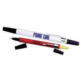 Branded Highlighter/Pens Combo