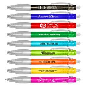 Ice Retractable Ballpoint Pen