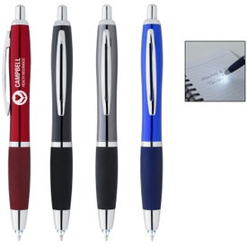 Illuminate Pen With LED Light with Your Slogan