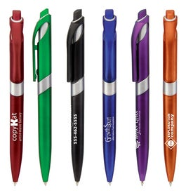 Insight Silver Pen for Advertising