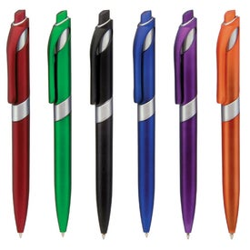 Insight Silver Pen Imprinted with Your Logo