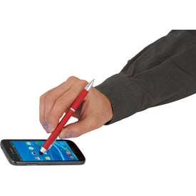 The Iris Multi-Ink Pen and Stylus with Your Logo