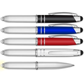 iWriter Glow Metal Stylus Pen with LED Light