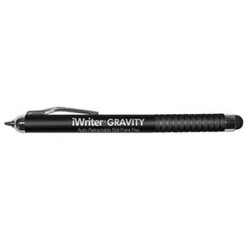 iWriter Gravity Auto Retractable Ball Point Pen with Stylus