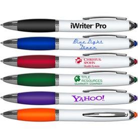iWriter Pro Colored Stylus Ballpoint Pen