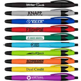 iWriter Rubberized Ball Point Stylus Pen