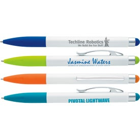 Jewel Stylus Pen Printed with Your Logo