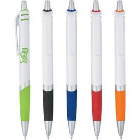 Branded Kingston Plastic Pen
