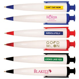Magic Answer Pen with Your Slogan