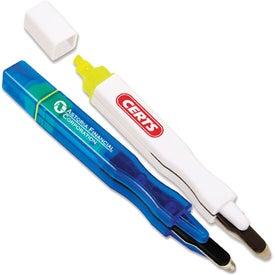 Magnetic Highlighter Staple Remover