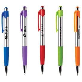 Mardi Gras Chrome Pen