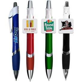 Marquee Square Clip Pen (Full Color)