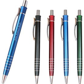 Branded Metal Multi Ring Pen