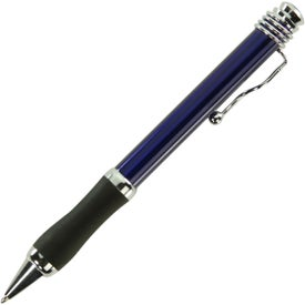 Customized Metal Ball Point Pen With Curvy Clip