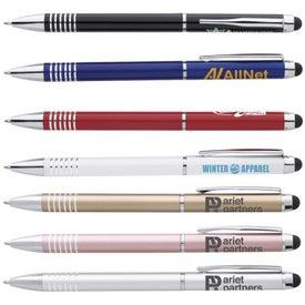 Metal Twist Stylus Pen