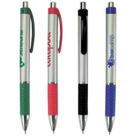 Metallic Crisscross Pen