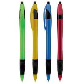 Custom Metallic Dart Pen with Grip