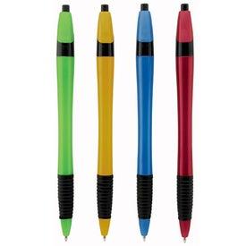 Metallic Dart Pen with Grip