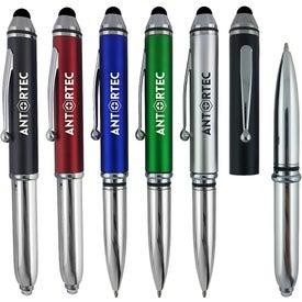 Metallic Stylus Light Pen