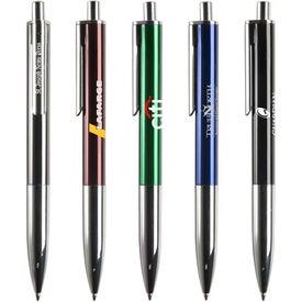 Custom Milan Aluminum Pen
