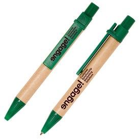 Customized Mini Eco Paper Barrel Pen