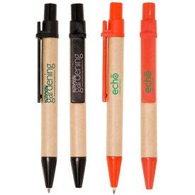 Mini Eco Paper Barrel Pen
