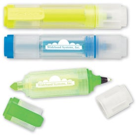 Imprinted Mini Neon Highlighter