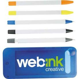 Advertising Mobile Writing Set