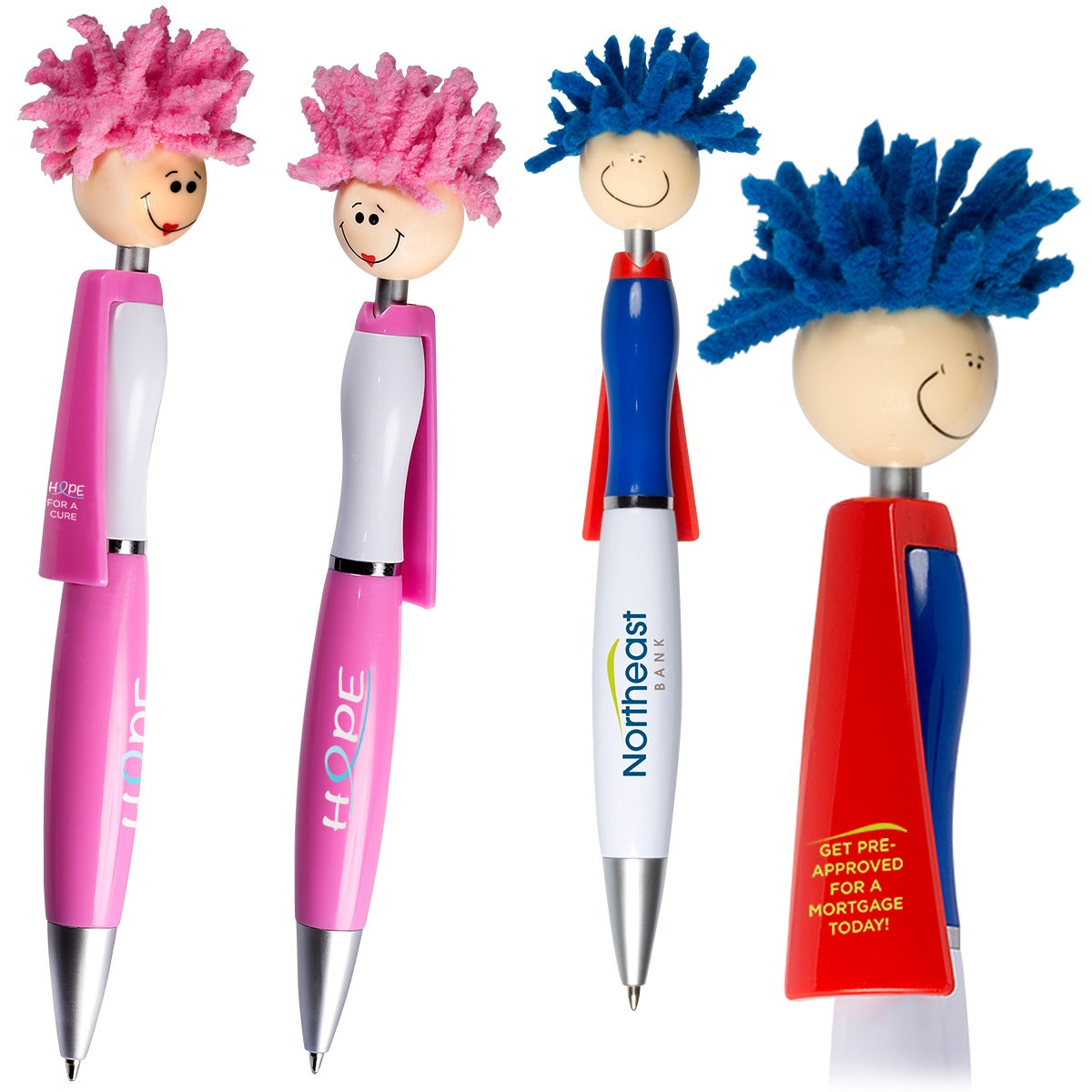 Superhero pens that I'm sure would be a hit with the boys.