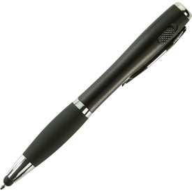Nash Pen-Stylus and Light for Advertising