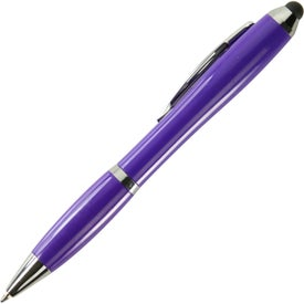 Nash Pen with Stylus Printed with Your Logo